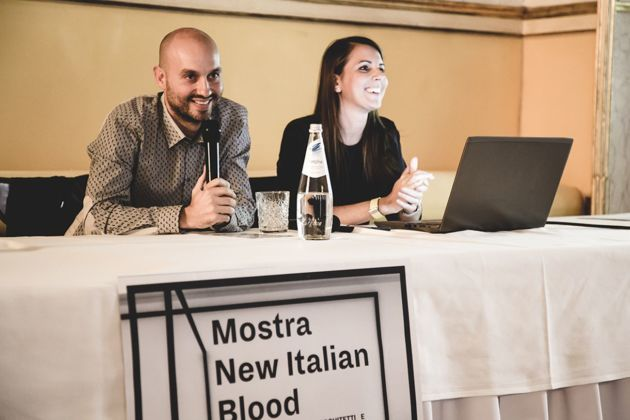 ABACO, Alice Braggion & Alessandro Carabini. Conferenza New Italian Blood, Padova, 2018, photo Giovanni Campaci