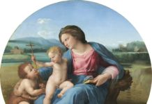 Raffaello Madonna con il Bambino e san Giovannino (Madonna d'Alba) Washington, D.C., National Gallery of Art, Andrew W. Mellon Collection © National Gallery of Art, Washington