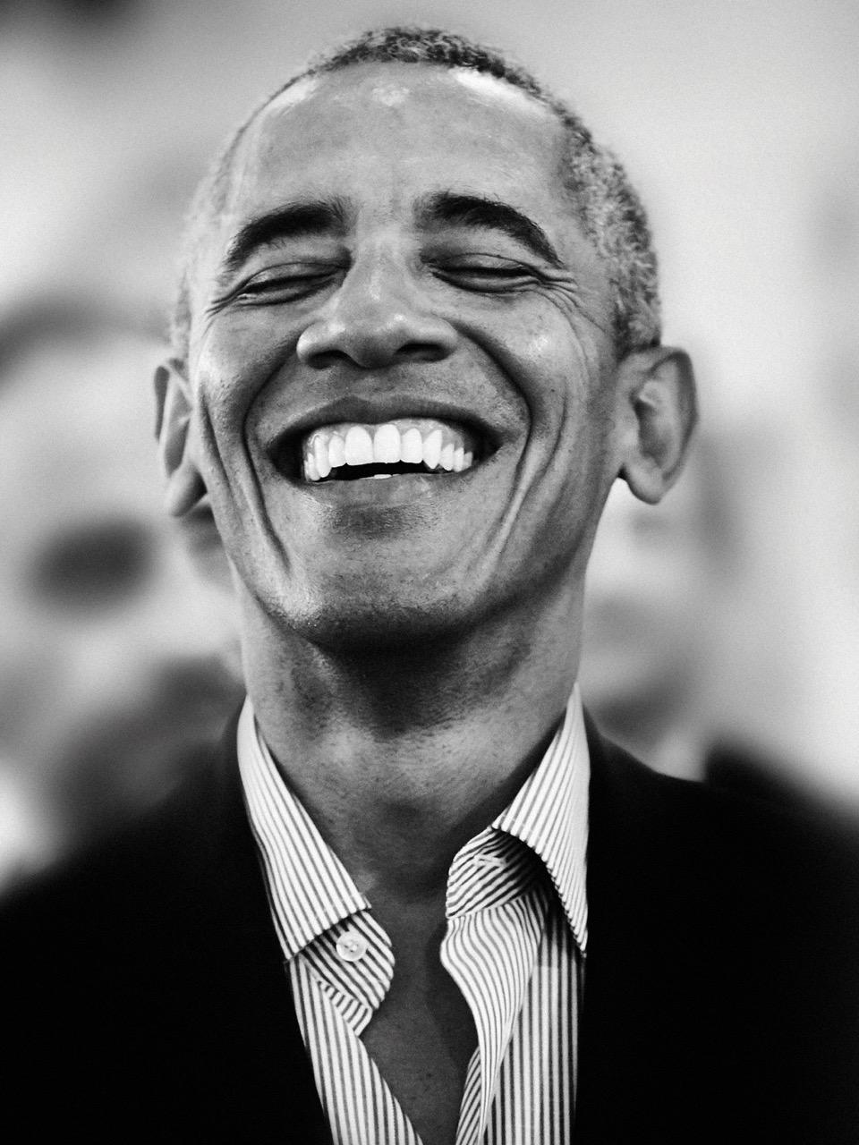 GIOVANNI GASTEL. THE PEOPLE I LIKE Giovanni Gastel, Ritratto di Barack Obama (Milano, 2017) Ph & Courtesy: Giovanni Gastel