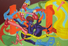 Peter Saul, Self Defense (1969)