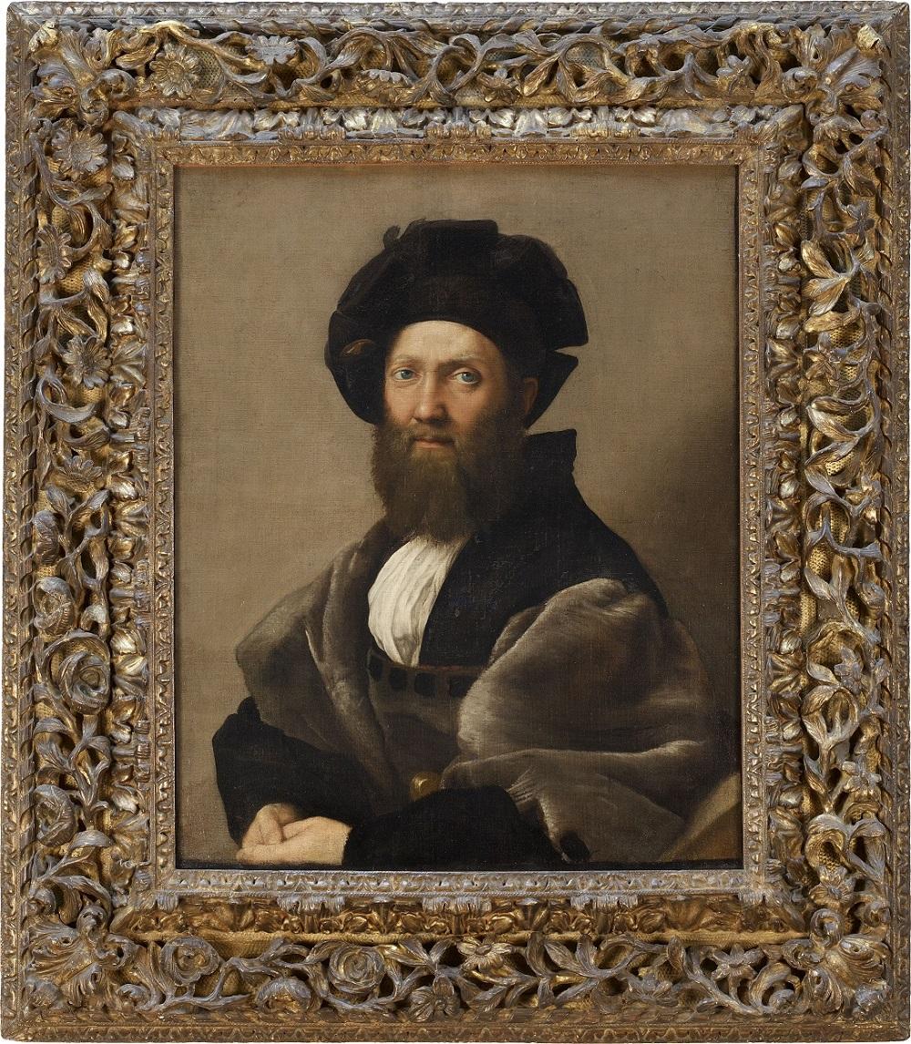Raffaello Ritratto di Baldassare Castiglione Parigi, musée du Louvre, dèpartement des Peintures © Musée du Louvre, Dist. RMN – Grand Palais / Angèle Dequier