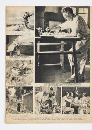 André Zucca, reportage fotografico su Jean Giono pubblicato su Signal, 13 giugno 1943. Association des Amis de Jean Giono © André Zucca – BHVP – Roger-Viollet. Photo © David Giancatarina