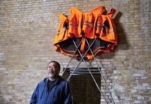 Ai Weiwei per Hornbach, Safety Jackets Zipped the Other Way, 2020