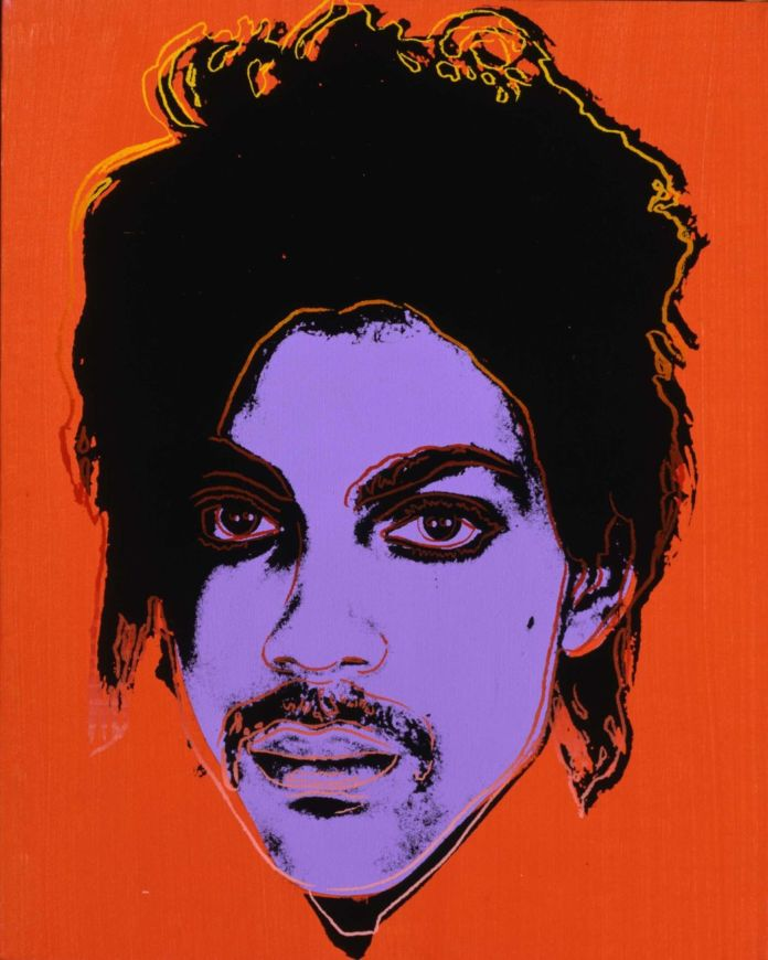 Andy Warhol, Prince, 1984 ca. The Andy Warhol Foundation for the Visual Arts, Inc. Artists Rights Society (ARS), New York