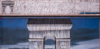 BRAFA2020 Christo L'Arc De Triomphe Wrapped Guy Pieters_Photo André Grossmann © 2019 Christo
