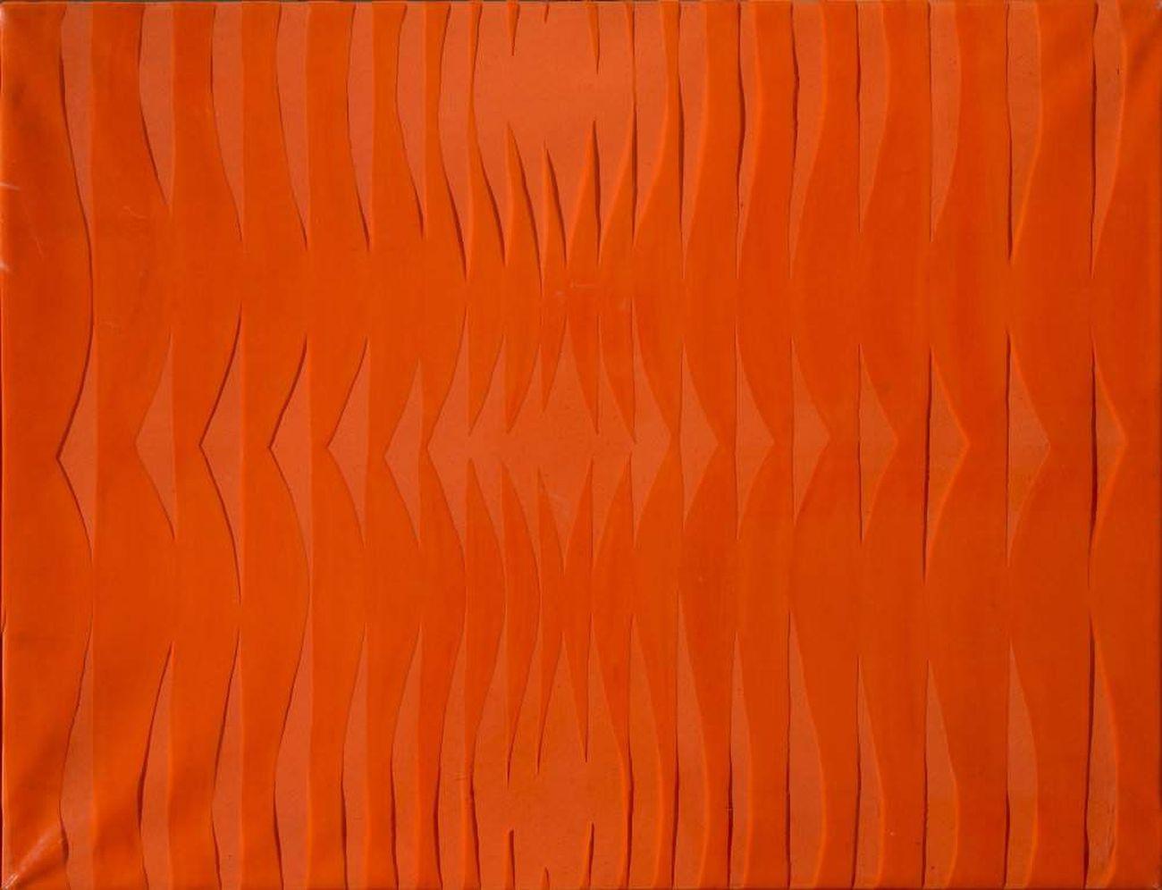 Carla Accardi, Arancio arancio, 1966