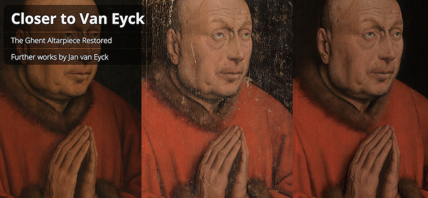 Closer to van Eyck