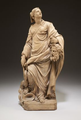 Ignazio Collino, Giuditta con la testa di Oloferne, terracotta, 1750, Minneapolis, Minneapolis Institute of Art
