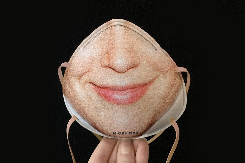 maschera anti virus protettiva n95