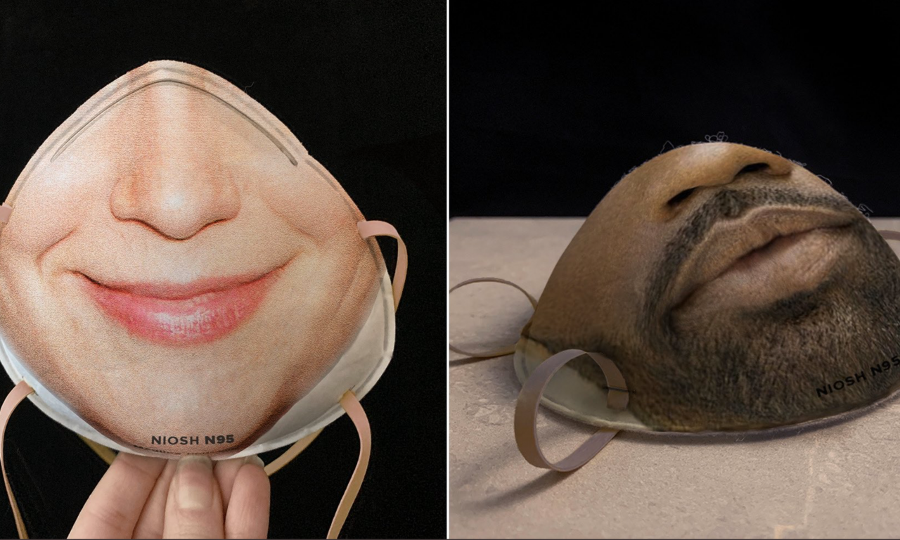 Danielle Baskin, Face id masks | Artribune