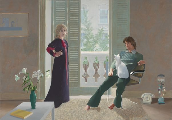 David Hockney Mr and Mrs Clark and Percy, 197071, Tate, London, © David Hockney, © Foto Tate, London 2019