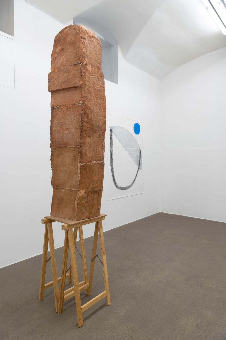 Esther Kläs. Maybe It Can Be Different. Installation view at Fondazione Giuliani, Roma 2020. Photo Giorgio Benni