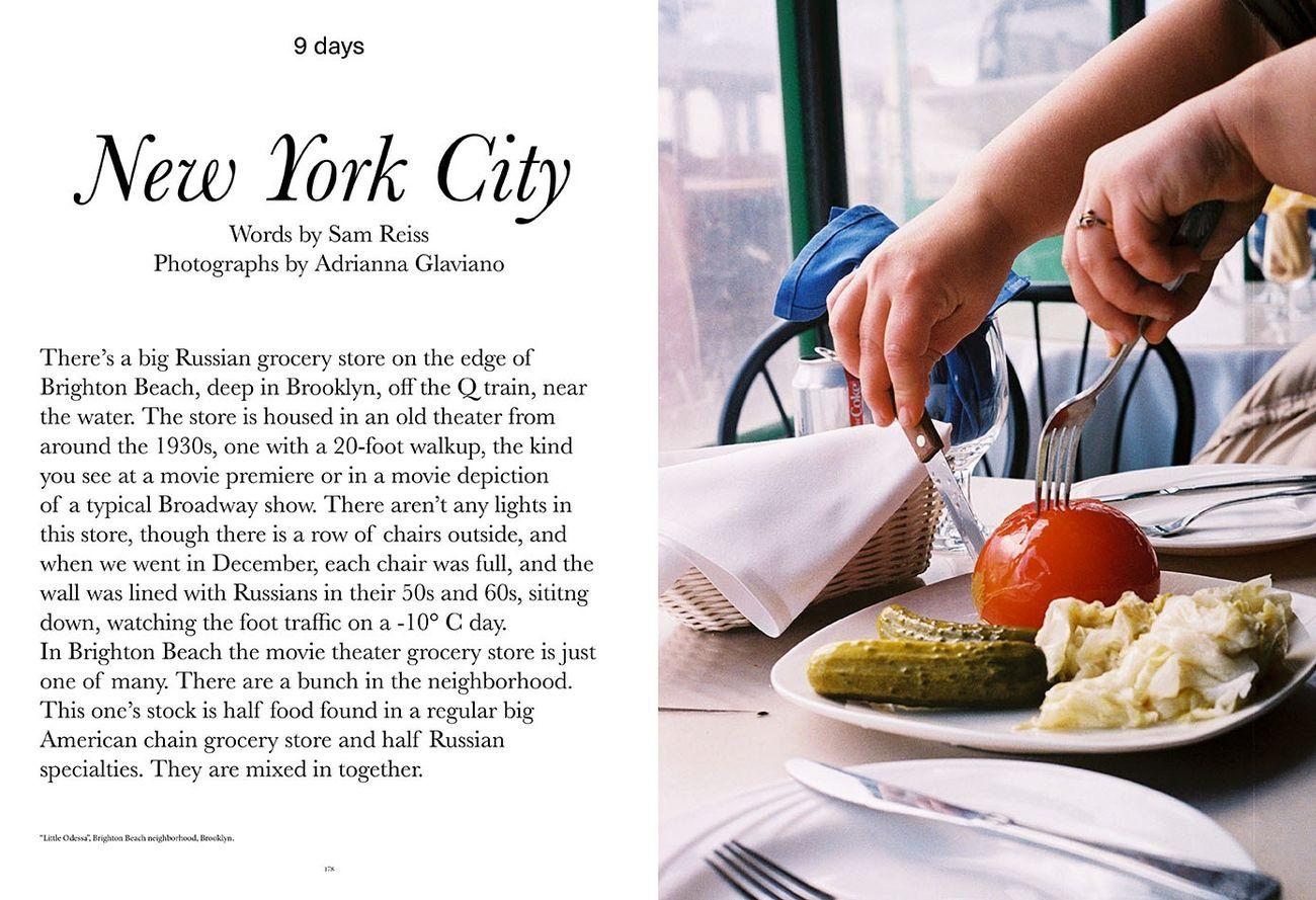 Estratto da Cartography #7, New York City, testo Sam Reiss, photo Adrianna Glaviano. Courtesy Cartography