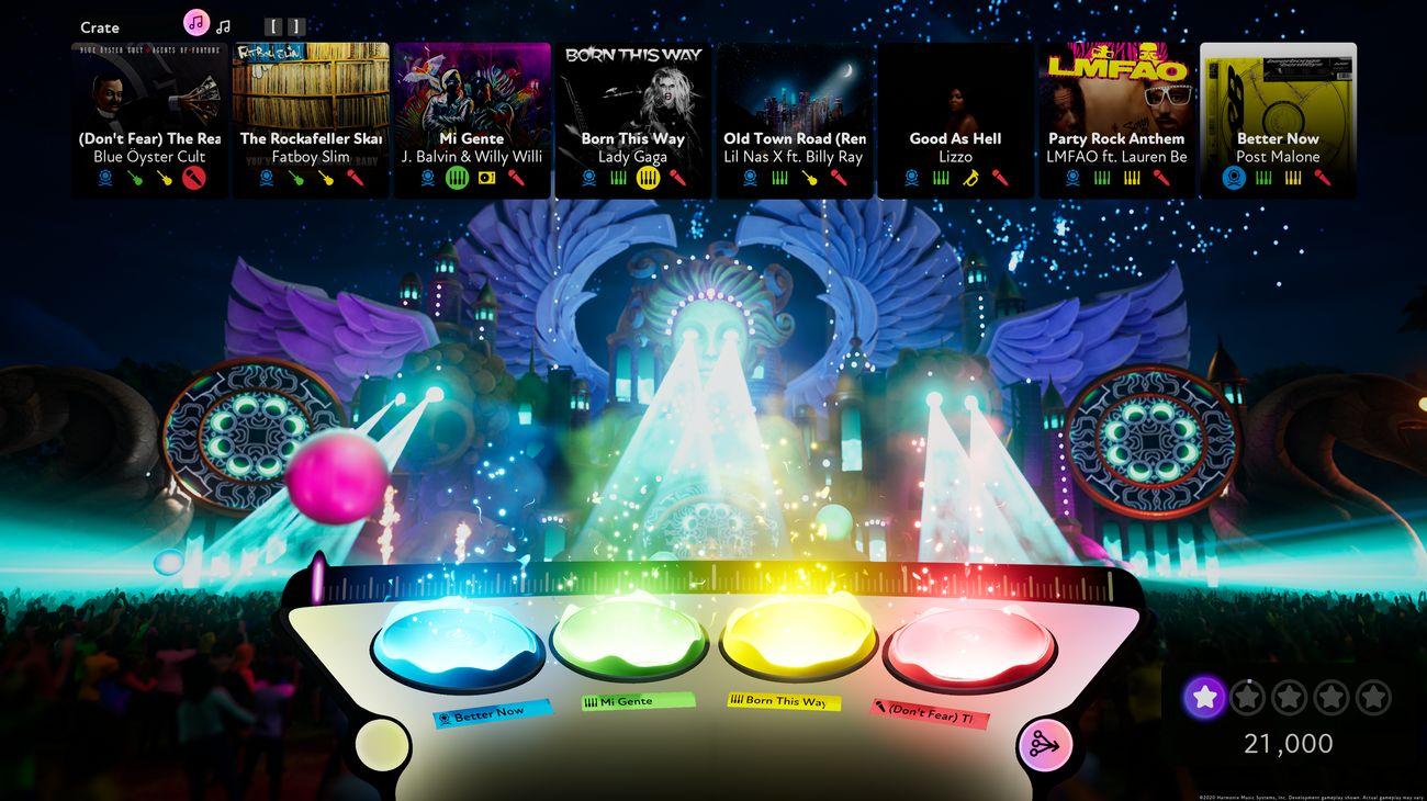 FUSER. Screenshot. UI. Disk Drop