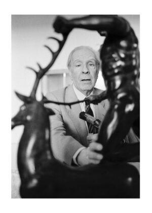 Ferdinando Scianna, dalla serie Sicilia Jorge Luis Borges a Palermo, 1984