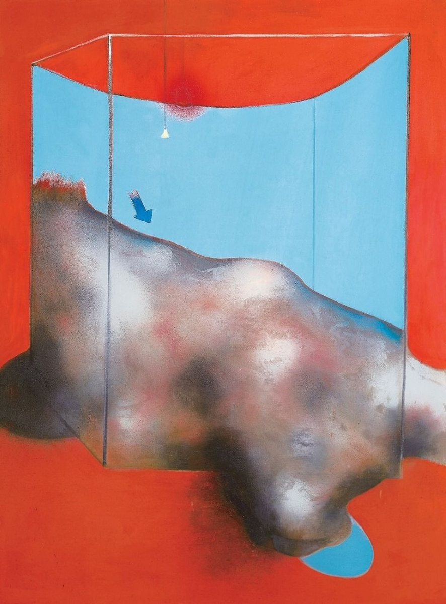 Francis Bacon, Sand Dune, 1983. Fondation Beyeler, Beyeler Collection, Riehen Basel