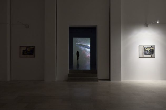 Franco Vaccari. Migrazione del reale. Installation view at P420, Bologna 2020. Photo Carlo Favero