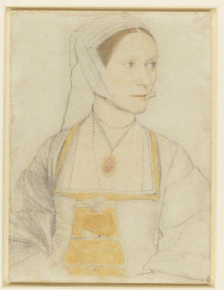 Hans Holbein II, Cecily Heron, daughter of Sir Thomas More, c.1527 Royal Collection Trust / © Her Majesty Queen Elizabeth II 2019