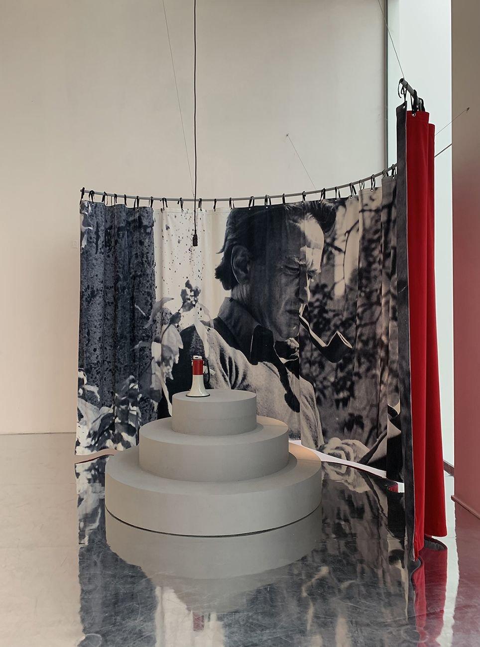 I quaderni di Giancarlo De Carlo 1966 2005. Installation view at La Triennale di Milano, 2020. Photo Derin Canturk