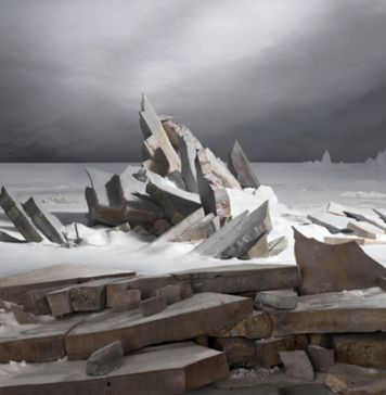James Casebere, Sea of Ice , 2014