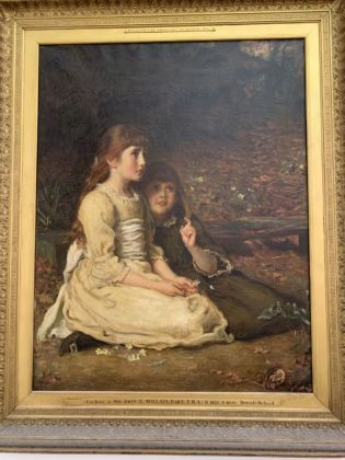 John Everett Millais, Cuckoo. Johannesburg Art Gallery. Photo Maria Stella Bottai