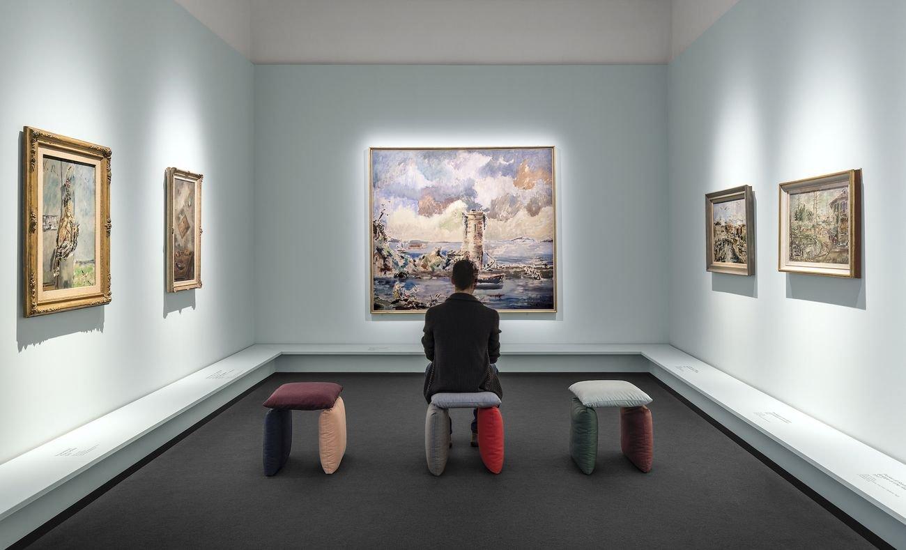 Filippo de Pisis, Il moro di Haarlem (Testa di negro), 1926. Cortina, Museo d'Arte Moderna Mario Rimoldi – Regole d'Ampezzo © Filippo de Pisis by SIAE 2019