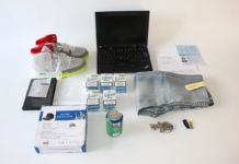 Mediengruppe Bitnik, Illegal goods bought by Random Darknet Shopper exhibited at Kunst Halle St. Gallen, 2015