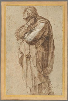 Michelangelo Buonarroti, Study of a Mourning Woman, 1500 1505 The J. Paul Getty Museum, Los Angeles