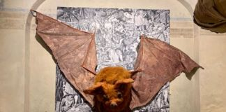 Monster Chetwynd, Bat, 2018. Courtesy Fondazione Sandretto Re Rebaudengo
