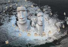 Rapa Nui point cloud