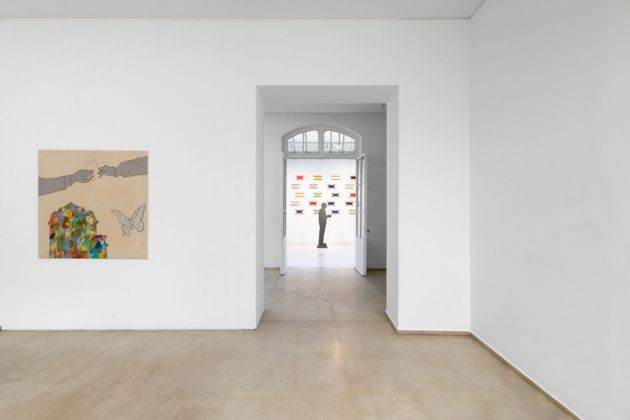 Renato Mambor. Exhibition view at Tornabuoni Art, Parigi 2020