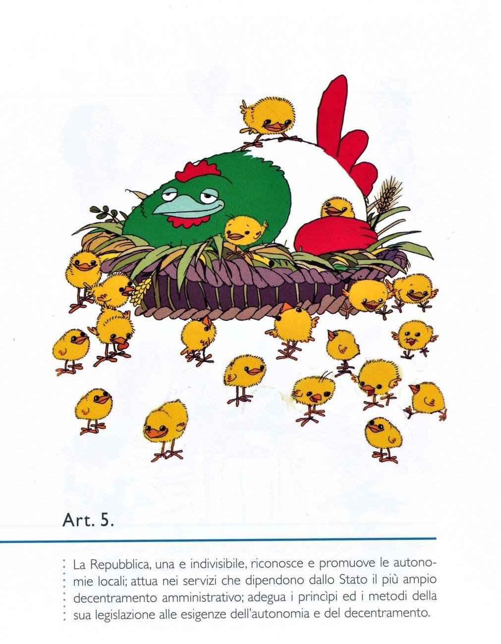 Ro Marcenaro, La Costituzione illustrata, Toscana Book art.5