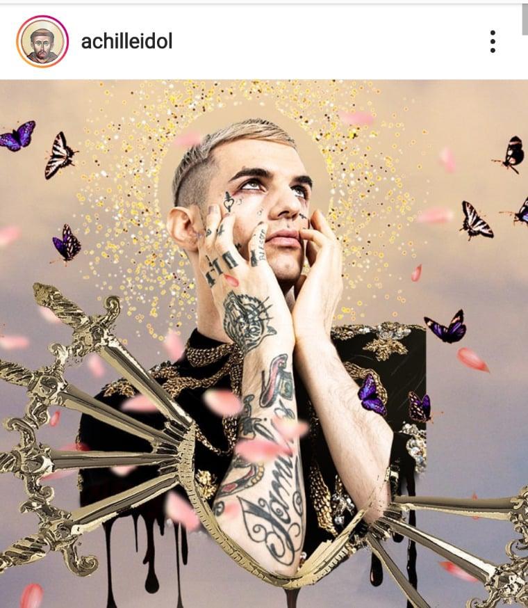 Achille Lauro, via Instagram