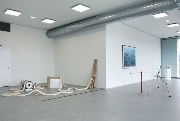 Sculptural Training. Exhibition view at MNT ‒ Museo Temporaneo Navile, Bologna 2020
