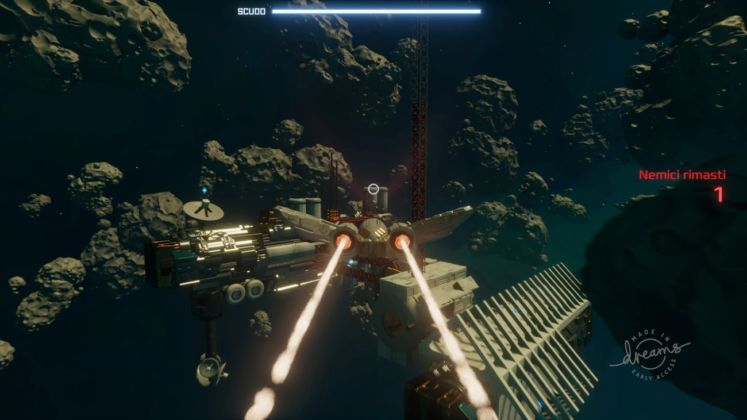Space Pilot Dogfight in Dreams