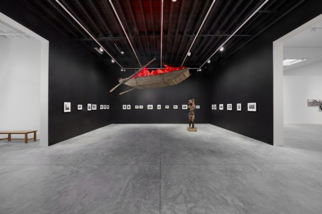The Red Bean Grows in the South. Exhibition view at Faurschou New York, 2019. Photo Tom Powel Imaging © Faurschou Foundation