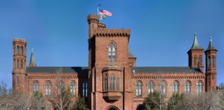 The Smithsonian Building in Washington D.C., United States. Edit of Wikipedia Image Smithsonian Building