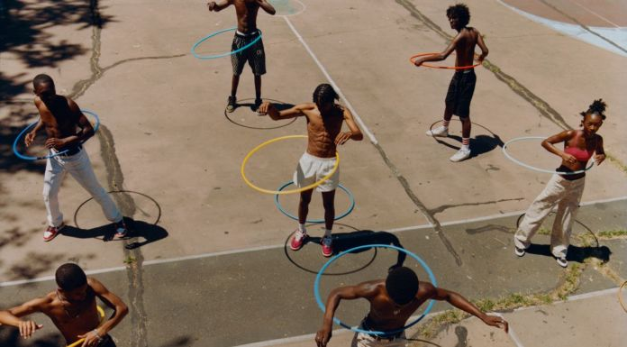 Tyler Mitchell, Untitled (Group Hula Hoop), 2019 © Tyler Mitchell. Courtesy ICP, New York
