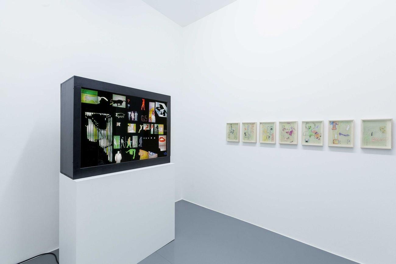 Umberto Bignardi. Sperimentazioni visuali a Roma (1964 1967). Exhibition view at Galleria Bianconi, Milano 2020. Photo Tiziano Doria