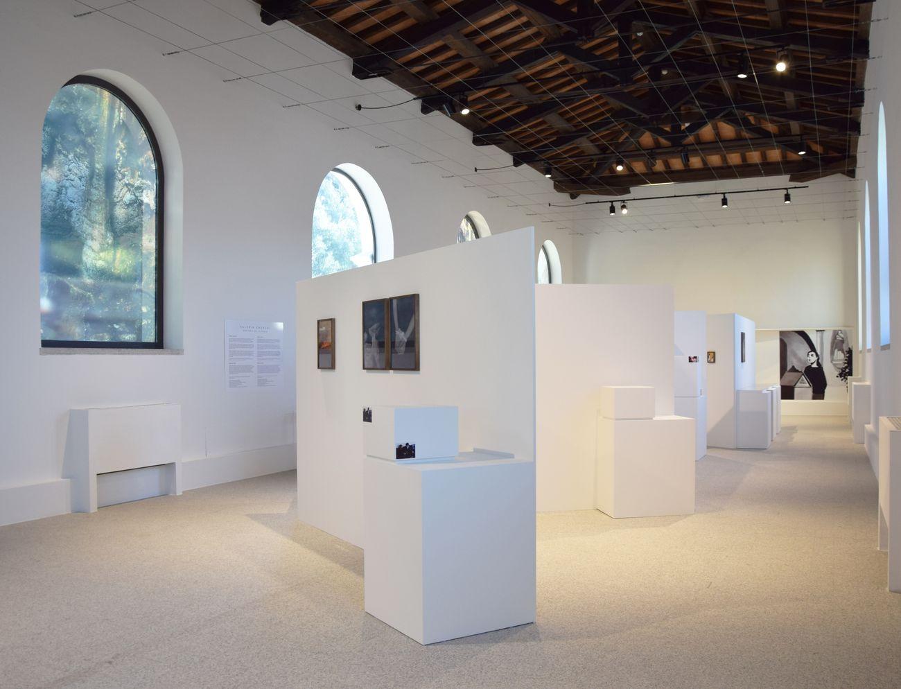 Valeria Cherchi. Anatomia del silenzio. Installation view at Museo Nivola, Nuoro 2020. Photo Luca Cheri
