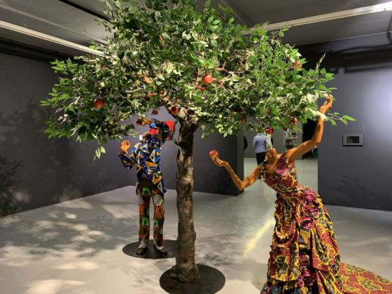 Yinka Shonibare, Adam and Eve. Zeitz MOCAA, Cape Town. Photo Maria Stella Bottai