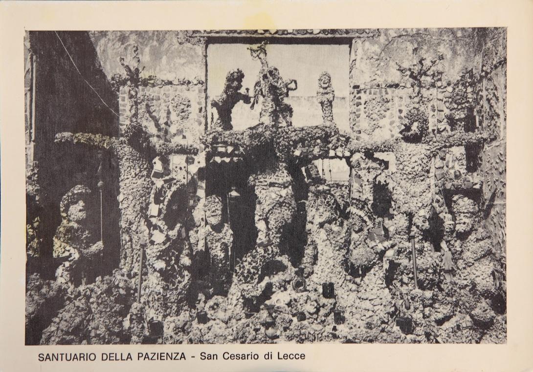 Cartolina del Santuario della pazienza. Anni Settanta. Archivio privato