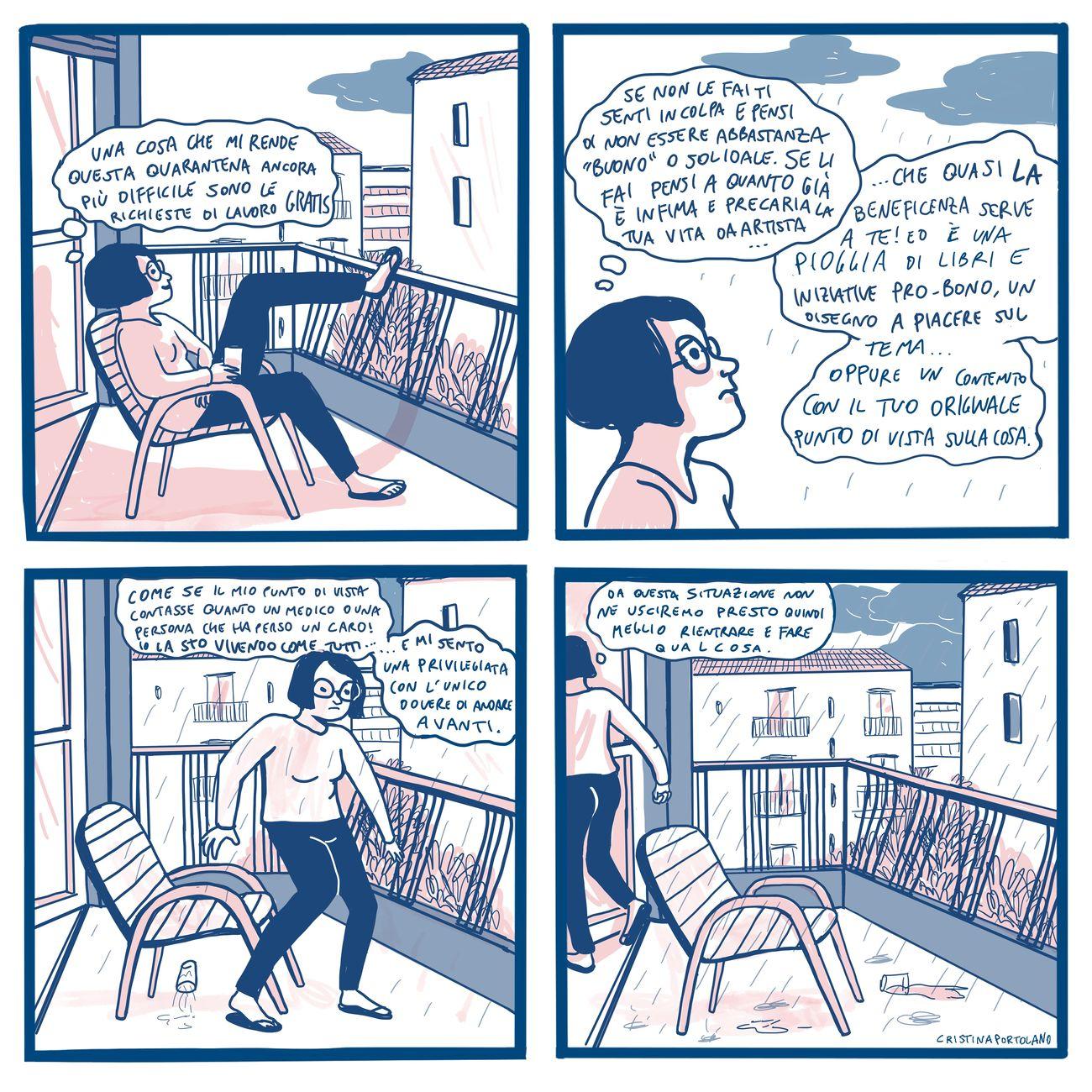 Un fumetto di Cristina Portolano
