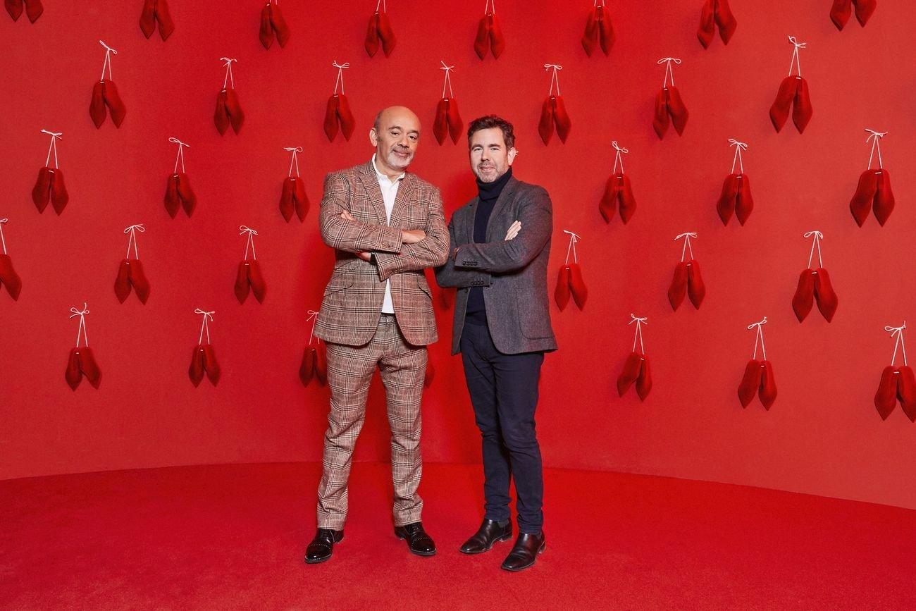 Christian Louboutin e Olivier Gabet © Courtesy of Christian Louboutin