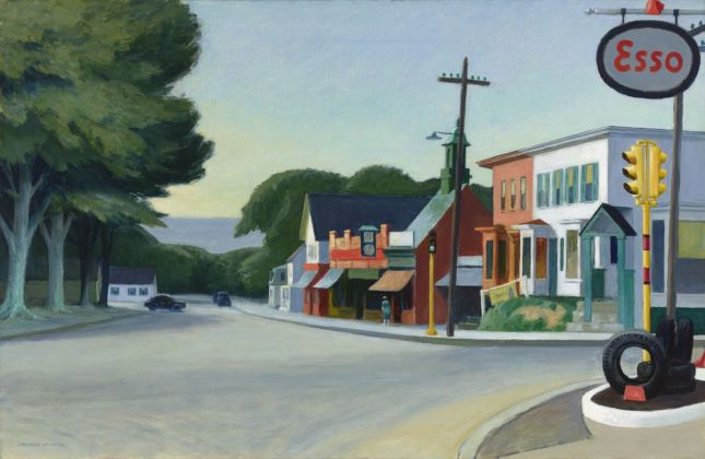 Edward Hopper, Portrait of Orleans, 1950. Fine Arts Museums of San Francisco © Heirs of Josephine Hopper - 2019, ProLitteris, Zurich. Photo Randy Dodson, The Fine Arts Museums of San Francisco