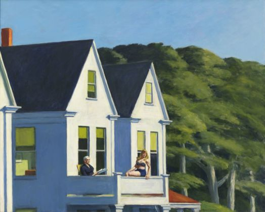 Edward Hopper, Second Story Sunlight, 1960. Whitney Museum of American Art, New York © Heirs of Josephine Hopper - 2019, ProLitteris, Zurich. Photo © 2019. Digital image Whitney Museum of American Art - Licensed by Scala