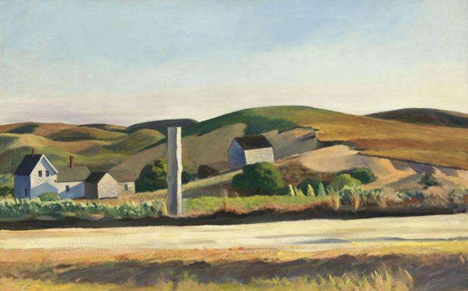 Edward Hopper, Road and Houses, South Truro, 1930-33. Whitney Museum of America Art, New York © Heirs of Josephine Hopper - 2019, ProLitteris, Zurich. Photo © 2019. Digital image Whitney Museum of American Art - Licensed by Scala