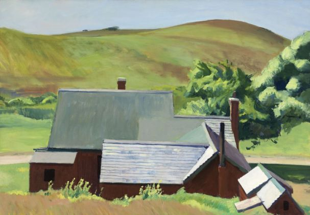 Edward Hopper, Burly Cobb's House, South Truro, 1930-33. Whitney Museum of America Art, New York © Heirs of Josephine Hopper - 2019, ProLitteris, Zurich. Photo © 2019. Digital image Whitney Museum of American Art - Licensed by Scala