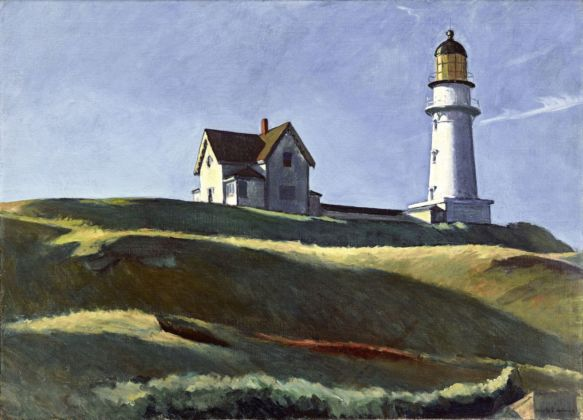 Edward Hopper, Lighthouse Hill, 1927. Dallas Museum of Art © Heirs of Josephine Hopper 2019, ProLitteris, Zurich. Photo Dallas Museum of Art Brad Flowers
