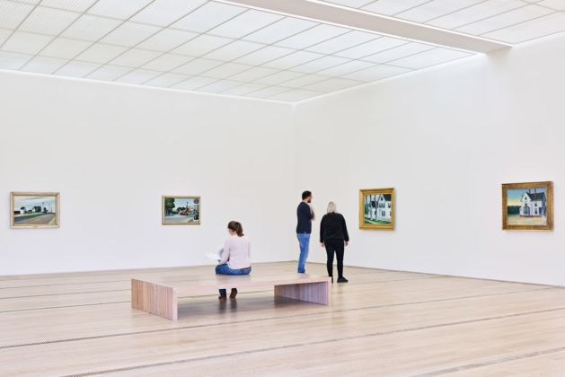 Edward Hopper. Exhibition view at Fondation Beyeler, Riehen-Basilea 2020